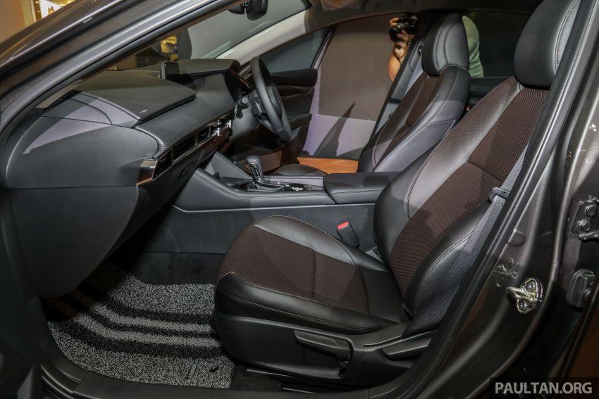Mazda 3 2019 dilancarkan di Malaysia – sedan dan hatchback, 3 varian, harga dari RM140k-RM160k Image #987399