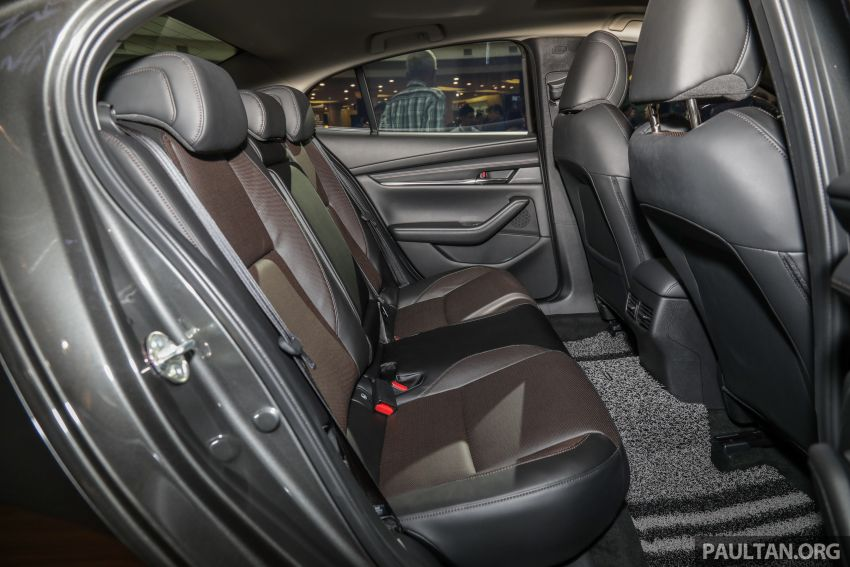 Mazda 3 2019 dilancarkan di Malaysia – sedan dan hatchback, 3 varian, harga dari RM140k-RM160k Image #987417
