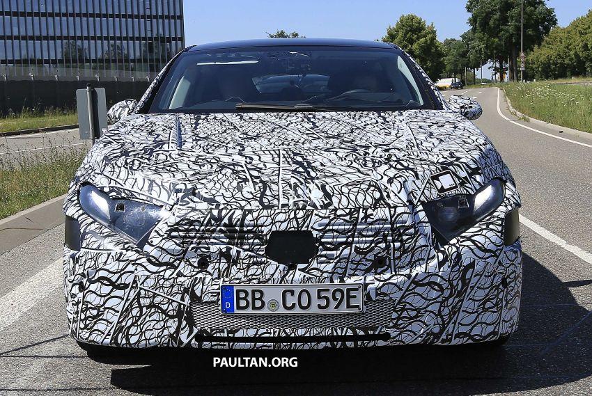 SPYSHOTS: Mercedes-Benz EQS seen road-testing Image #993562