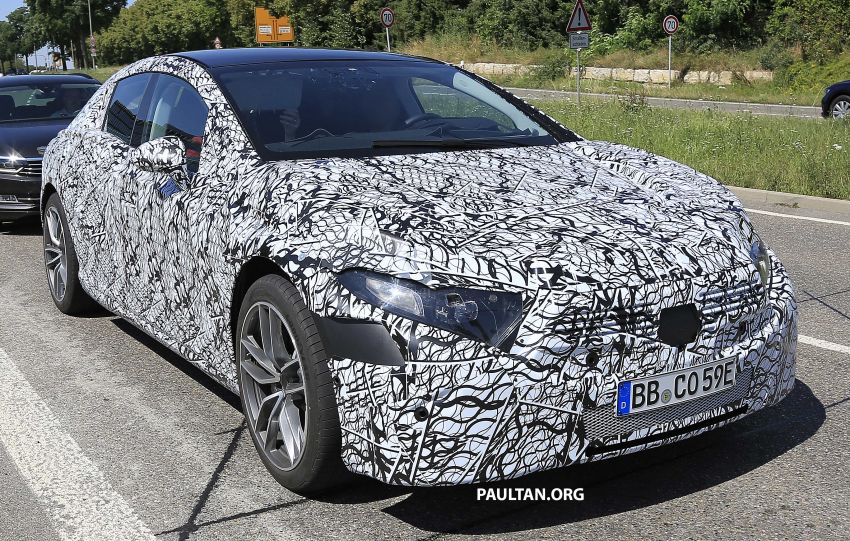 SPYSHOTS: Mercedes-Benz EQS seen road-testing Image #993565