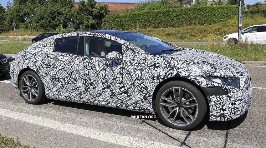 SPYSHOTS: Mercedes-Benz EQS seen road-testing Image #993566