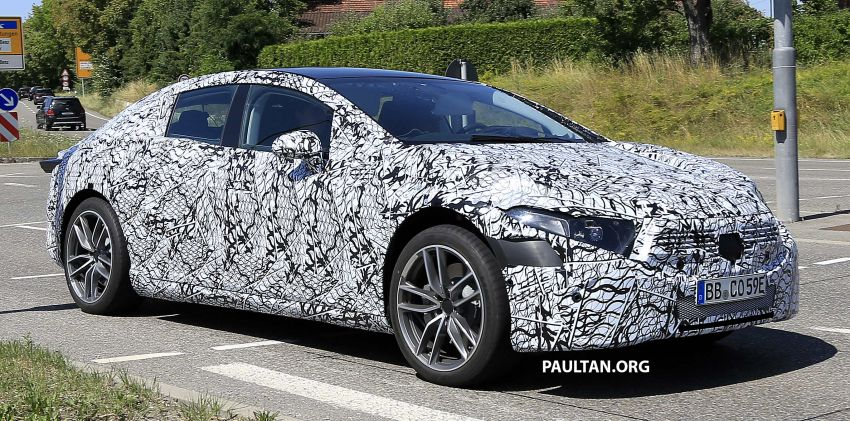 SPYSHOTS: Mercedes-Benz EQS seen road-testing Image #993575