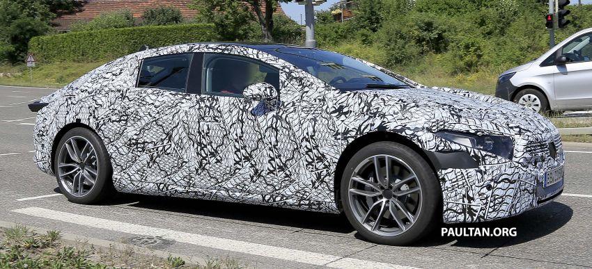 SPYSHOTS: Mercedes-Benz EQS seen road-testing Image #993576