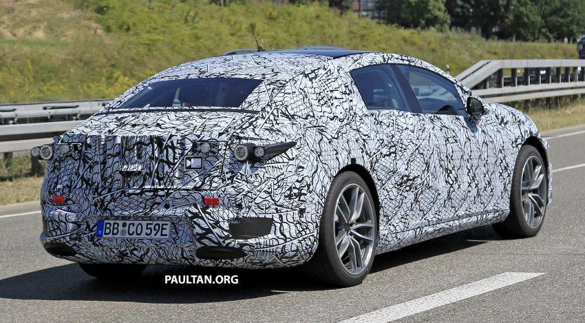 SPYSHOTS: Mercedes-Benz EQS seen road-testing Image #993580