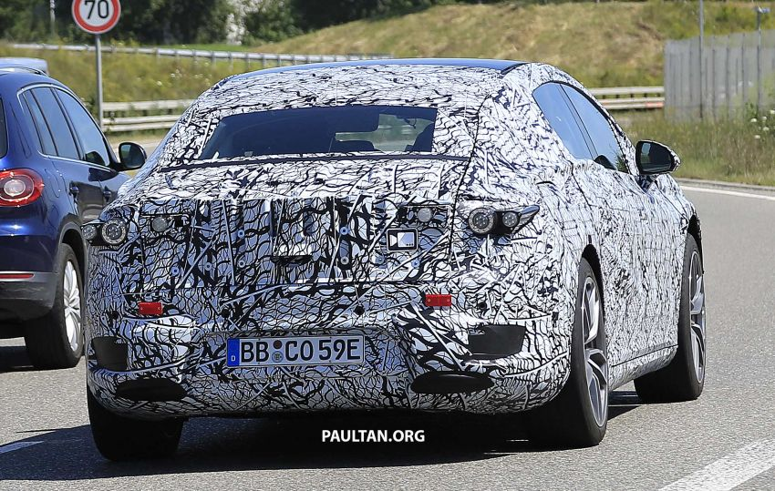 SPYSHOTS: Mercedes-Benz EQS seen road-testing Image #993582
