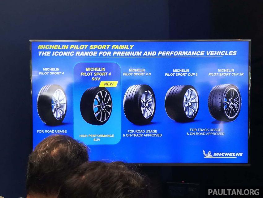Michelin Pilot Sport 4 SUV kini di Malaysia – khas untuk SUV, rim 17- hingga 23-inci, bermula RM700 Image #992816