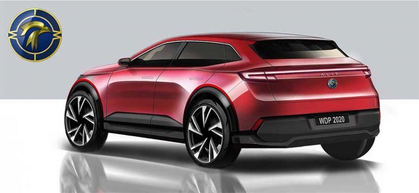Mimco Alif – sketches of Giugiaro-designed EV SUV Image #995522