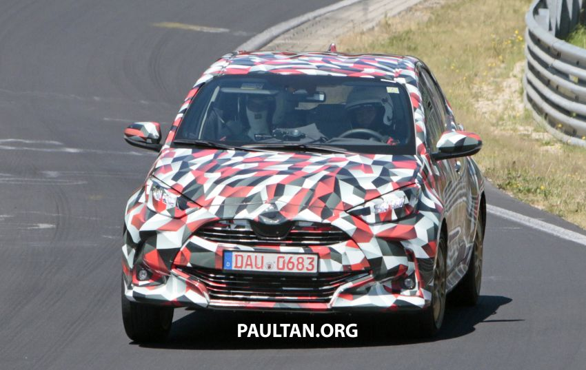 SPYSHOTS: Next-gen Toyota Yaris for Europe spotted Image #986430