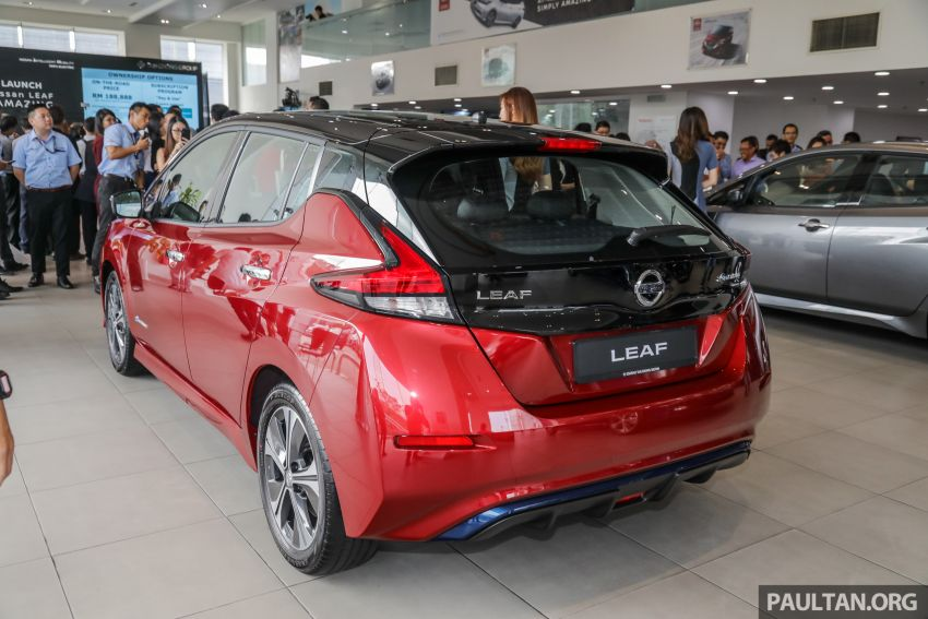 2019 Nissan Leaf launched in Malaysia – from RM189k Image #991123