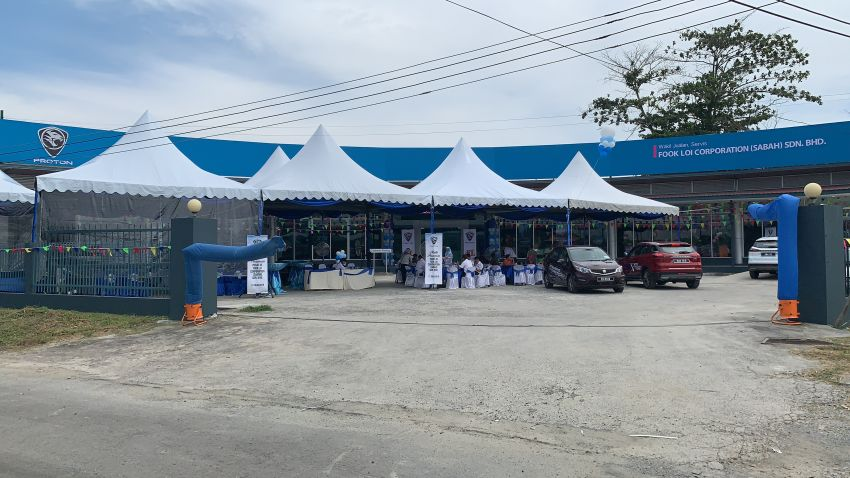 Proton opens new 3S Centre in Lahad Datu, Sabah Image #987247