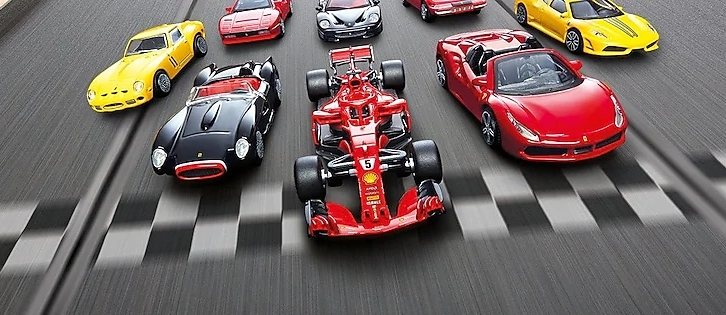 Shell launches a new eight-model Ferrari car collection Image #980524