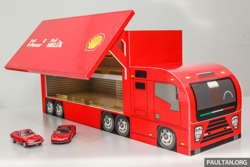 Shell launches a new eight-model Ferrari car collection Image #980582