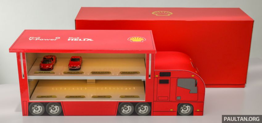 Shell launches a new eight-model Ferrari car collection Image #980595