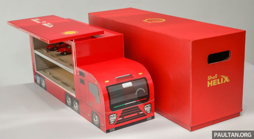 Shell launches a new eight-model Ferrari car collection Image #980596