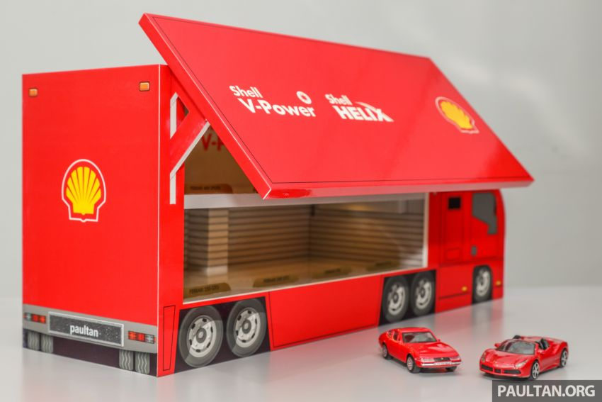 Shell launches a new eight-model Ferrari car collection Image #980584