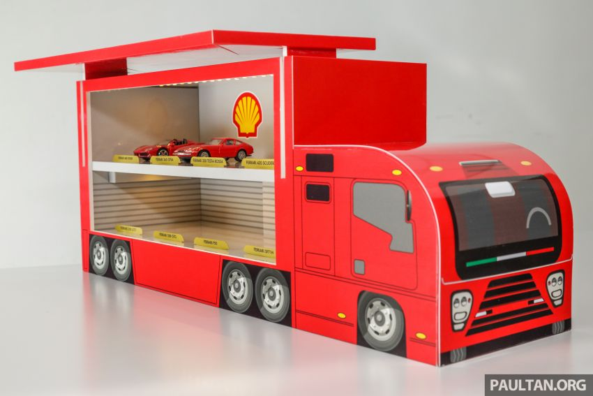Shell launches a new eight-model Ferrari car collection Image #980587