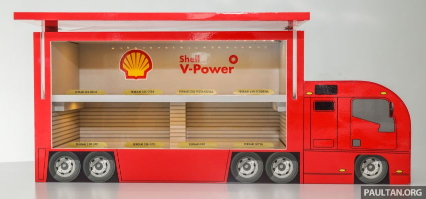 Shell launches a new eight-model Ferrari car collection Image #980588