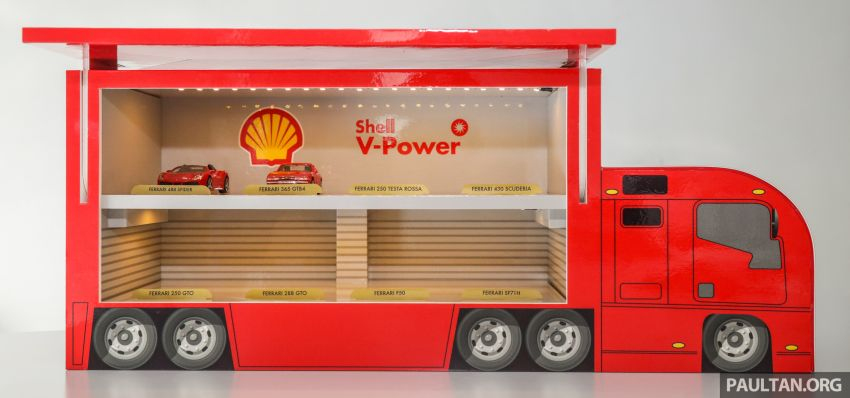 Shell launches a new eight-model Ferrari car collection Image #980590