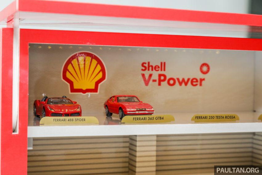 Shell launches a new eight-model Ferrari car collection Image #980591