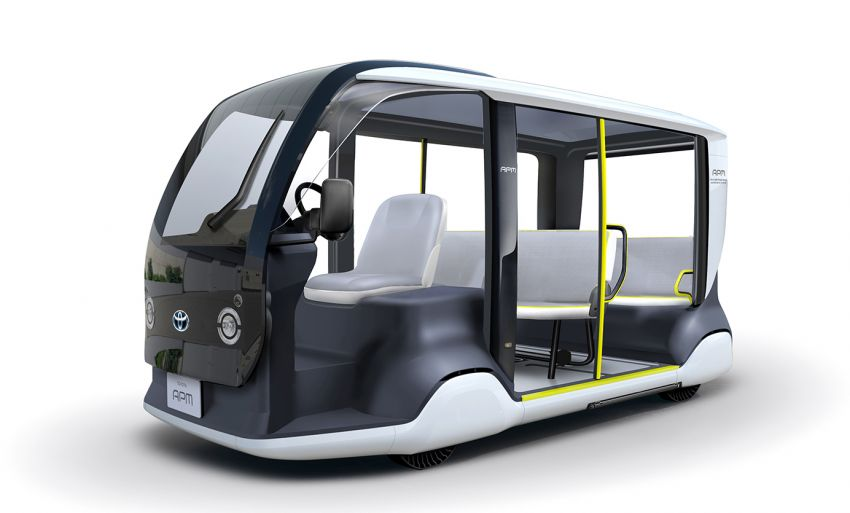 Toyota Accessible People Mover for 2020 Tokyo Olympics; pure EV for last-mile transportation Image #988449