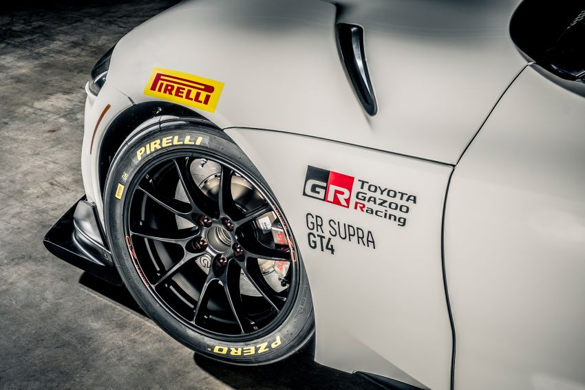 Toyota GR Supra GT4 race car revealed, on sale 2020 Image #981730