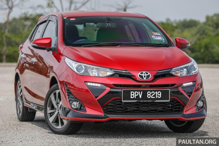 GALERI: Toyota Yaris 1.5G <em>hatchback</em> – RM83,888 Image #991441