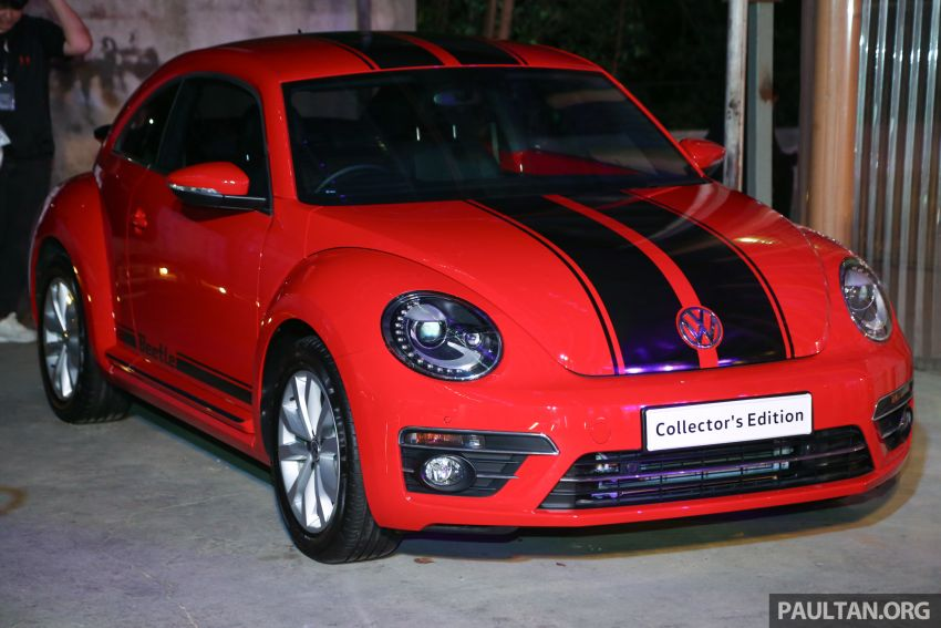 VW Beetle Collector's Edition in Malaysia – RM164k Image #984593