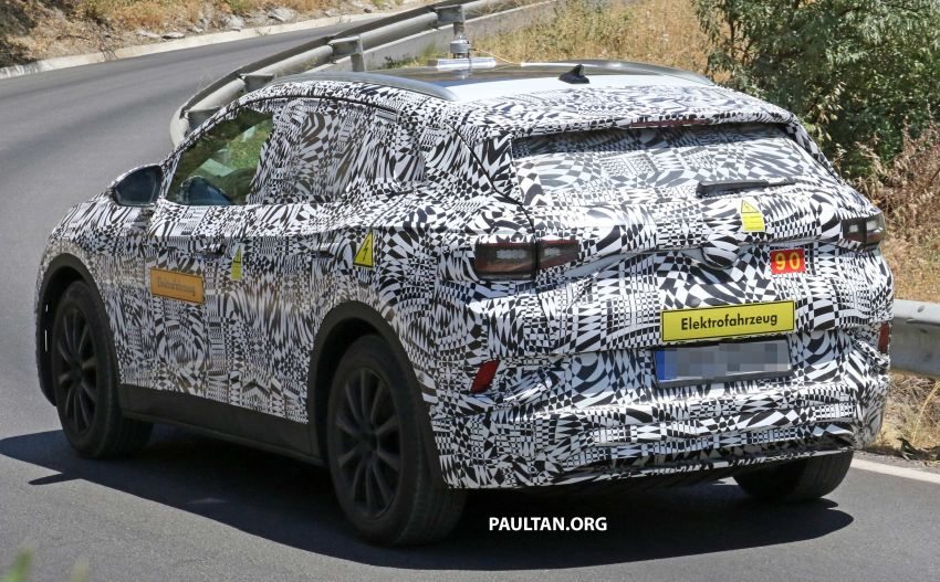 SPYSHOTS: Volkswagen ID. Crozz in production body Image #995617