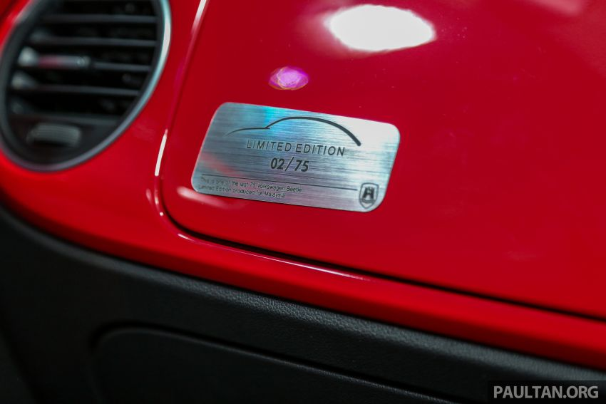 VW Beetle Collector's Edition in Malaysia – RM164k Image #984631