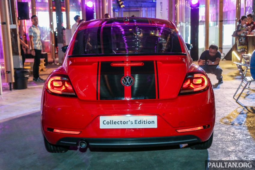 VW Beetle Collector's Edition in Malaysia – RM164k Image #984614