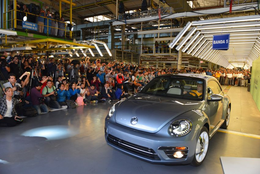 Volkswagen Beetle production comes to a conclusion Image #984706