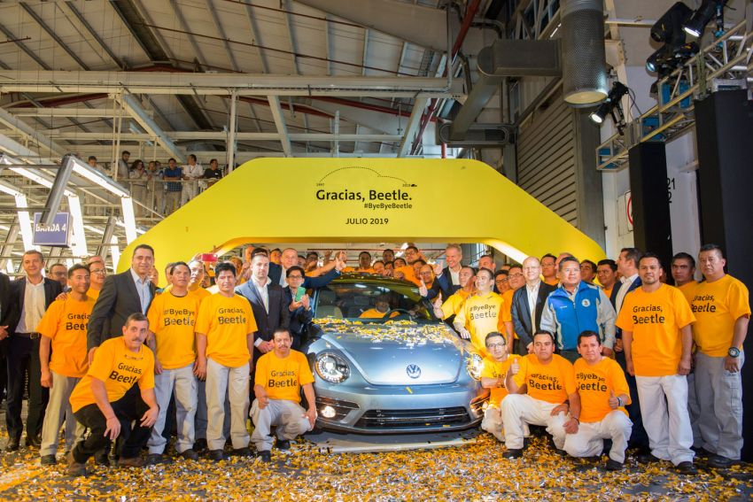 Volkswagen Beetle production comes to a conclusion Image #984721
