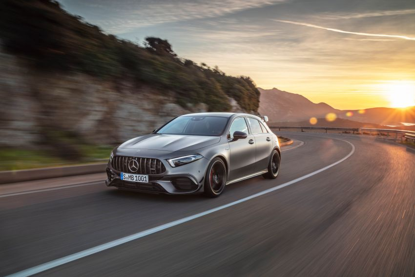 W177 Mercedes-AMG A45 4Matic+ debuts with up to 421 PS, 500 Nm – 0-100 km/h in 3.9s; Drift mode Image #981598