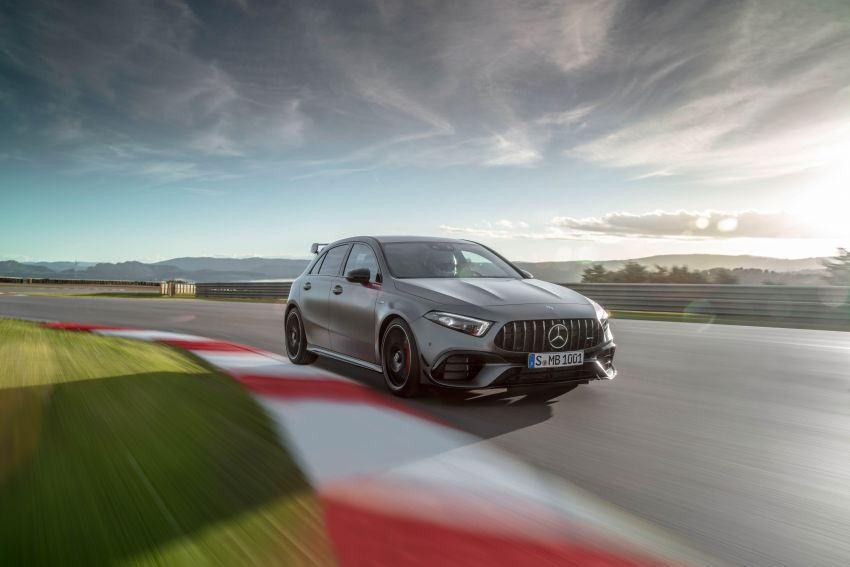 W177 Mercedes-AMG A45 4Matic+ debuts with up to 421 PS, 500 Nm – 0-100 km/h in 3.9s; Drift mode Image #981616