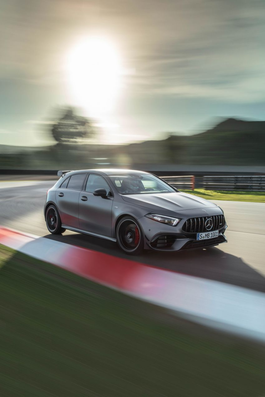 W177 Mercedes-AMG A45 4Matic+ debuts with up to 421 PS, 500 Nm – 0-100 km/h in 3.9s; Drift mode Image #981618