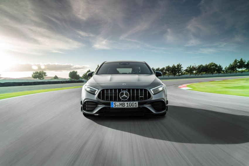 W177 Mercedes-AMG A45 4Matic+ debuts with up to 421 PS, 500 Nm – 0-100 km/h in 3.9s; Drift mode Image #981620