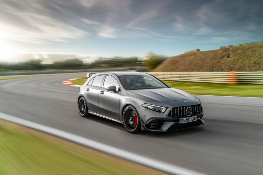 W177 Mercedes-AMG A45 4Matic+ debuts with up to 421 PS, 500 Nm – 0-100 km/h in 3.9s; Drift mode Image #981622
