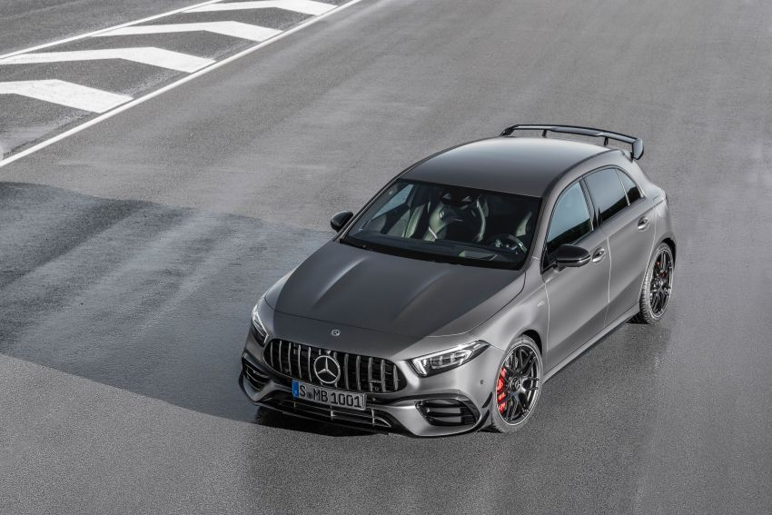 W177 Mercedes-AMG A45 4Matic+ debuts with up to 421 PS, 500 Nm – 0-100 km/h in 3.9s; Drift mode Image #981624