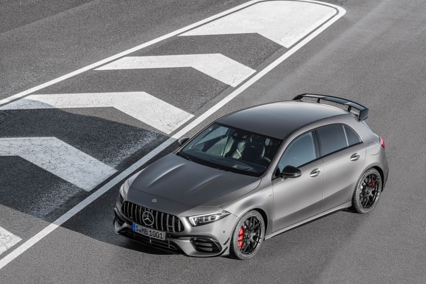 W177 Mercedes-AMG A45 4Matic+ debuts with up to 421 PS, 500 Nm – 0-100 km/h in 3.9s; Drift mode Image #981626