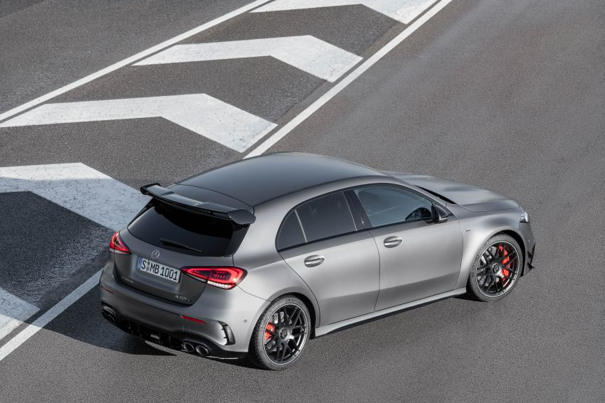 W177 Mercedes-AMG A45 4Matic+ debuts with up to 421 PS, 500 Nm – 0-100 km/h in 3.9s; Drift mode Image #981627