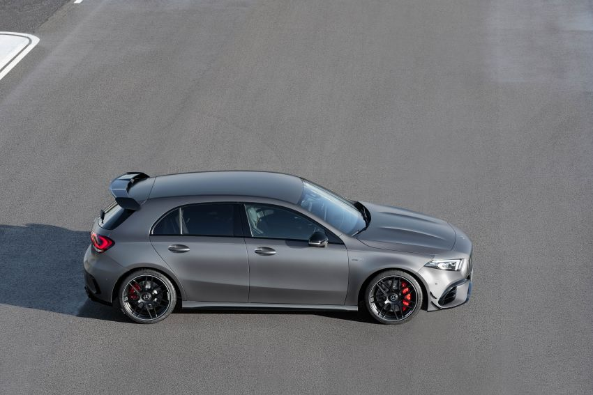 W177 Mercedes-AMG A45 4Matic+ debuts with up to 421 PS, 500 Nm – 0-100 km/h in 3.9s; Drift mode Image #981629