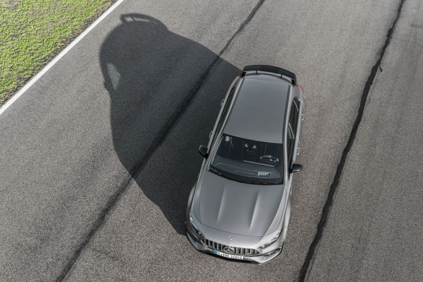 W177 Mercedes-AMG A45 4Matic+ debuts with up to 421 PS, 500 Nm – 0-100 km/h in 3.9s; Drift mode Image #981632
