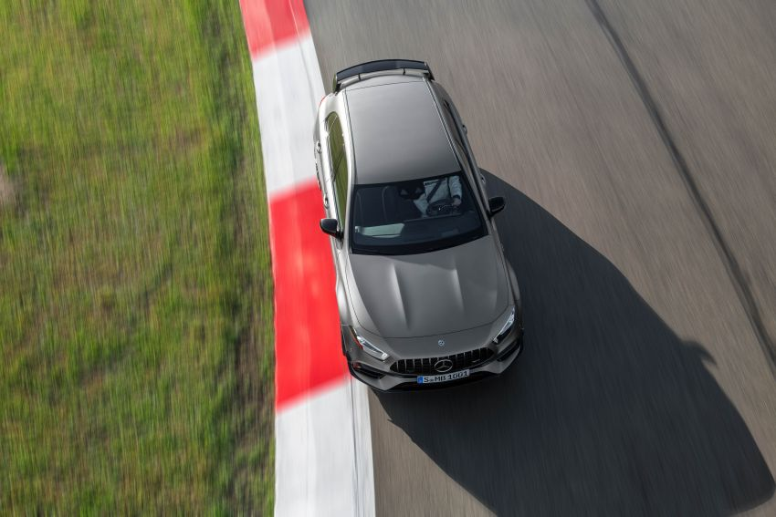 W177 Mercedes-AMG A45 4Matic+ debuts with up to 421 PS, 500 Nm – 0-100 km/h in 3.9s; Drift mode Image #981634