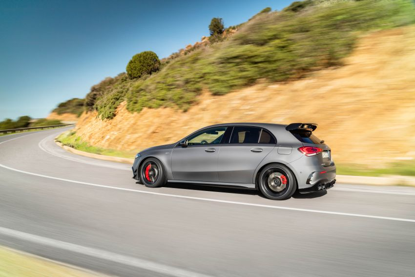 W177 Mercedes-AMG A45 4Matic+ debuts with up to 421 PS, 500 Nm – 0-100 km/h in 3.9s; Drift mode Image #981599