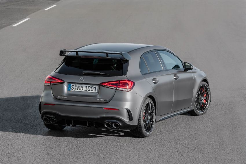 W177 Mercedes-AMG A45 4Matic+ debuts with up to 421 PS, 500 Nm – 0-100 km/h in 3.9s; Drift mode Image #981638