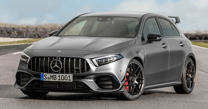 W177 Mercedes-AMG A45 4Matic+ debuts with up to 421 PS, 500 Nm – 0-100 km/h in 3.9s; Drift mode Image #981640