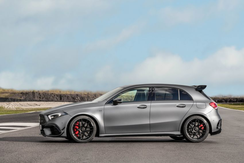 W177 Mercedes-AMG A45 4Matic+ debuts with up to 421 PS, 500 Nm – 0-100 km/h in 3.9s; Drift mode Image #981641