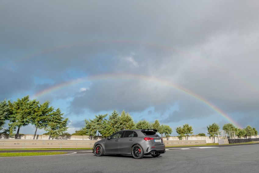 W177 Mercedes-AMG A45 4Matic+ debuts with up to 421 PS, 500 Nm – 0-100 km/h in 3.9s; Drift mode Image #981643
