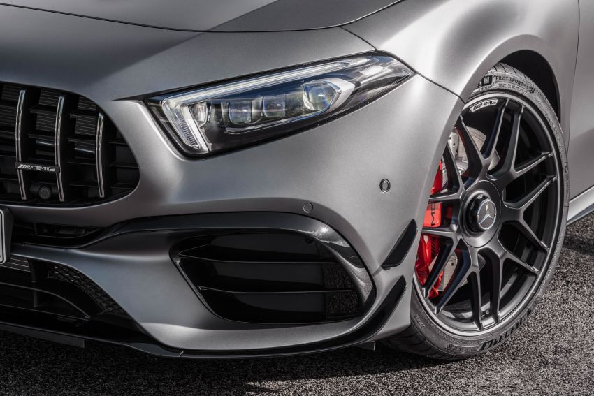 W177 Mercedes-AMG A45 4Matic+ debuts with up to 421 PS, 500 Nm – 0-100 km/h in 3.9s; Drift mode Image #981647