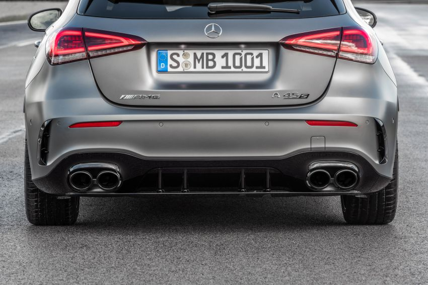 W177 Mercedes-AMG A45 4Matic+ debuts with up to 421 PS, 500 Nm – 0-100 km/h in 3.9s; Drift mode Image #981649